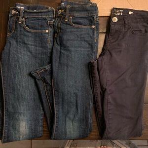3 Pair of Pants Bundle